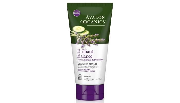 Крем, гель, скатка и другие скрабы для лица: Avalon Organics