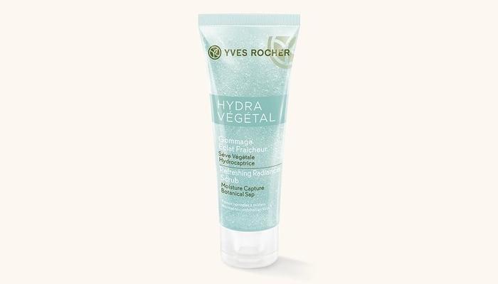 Скраб для сухой и чувствительной кожи лица: Yves Rocher Hydra Vegetal