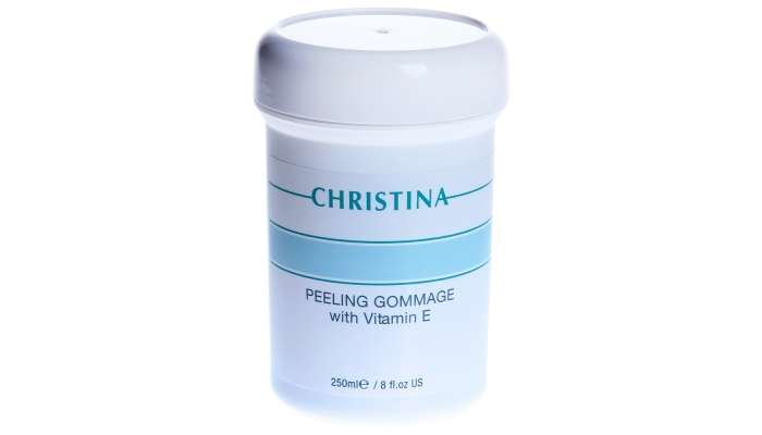 Пилинг Кристина: гоммаж с витамином Е