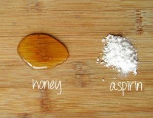 Пилинг аспирином: очищающий