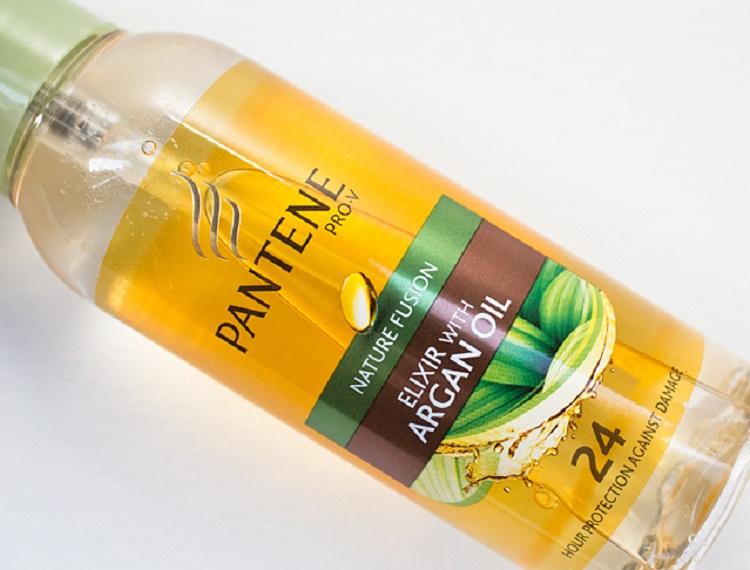 Pantene Pro-V - состав масла для волос