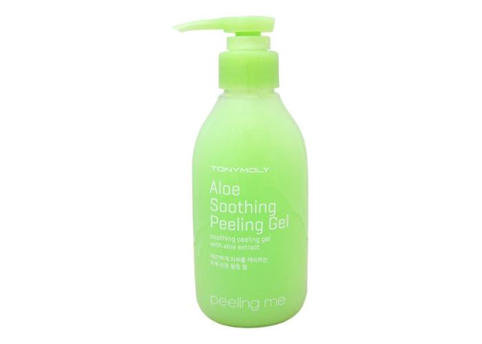 Гель-пилинг для лица: Peeling Me Aloe Soothing Gel от бренда Tony Moly