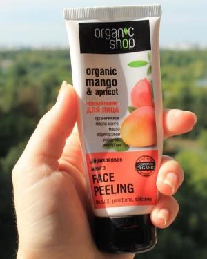 Пилинг Organic Shop: действие и эффективность