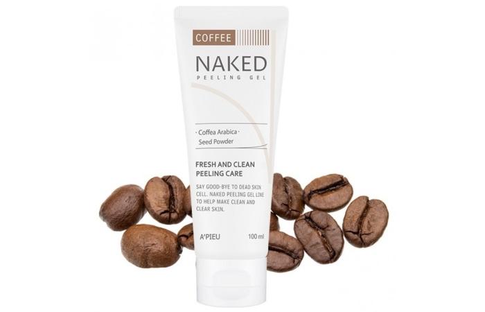 Пилинги Apieu: Nacked пилинг-гель кофейный