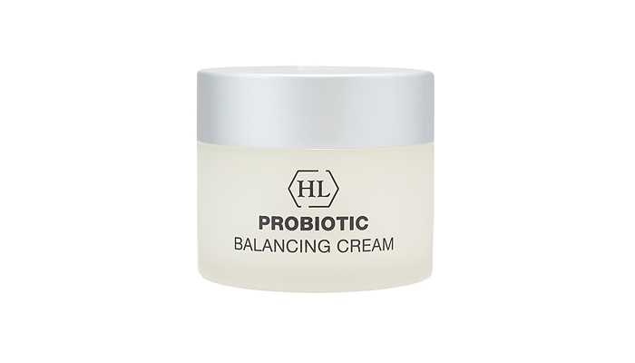 Уход после пилинга: Probiotic Balancing cream от Holy land cosmetics