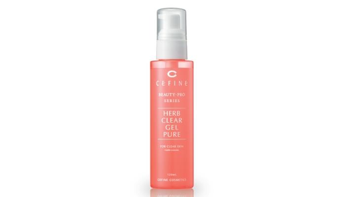 Лучшие пилинги для лица: Herb Clear Gel Pure от Cefine