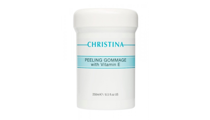 Лучшие пилинги для лица: Peeling Gommage with vitamins E от Christina