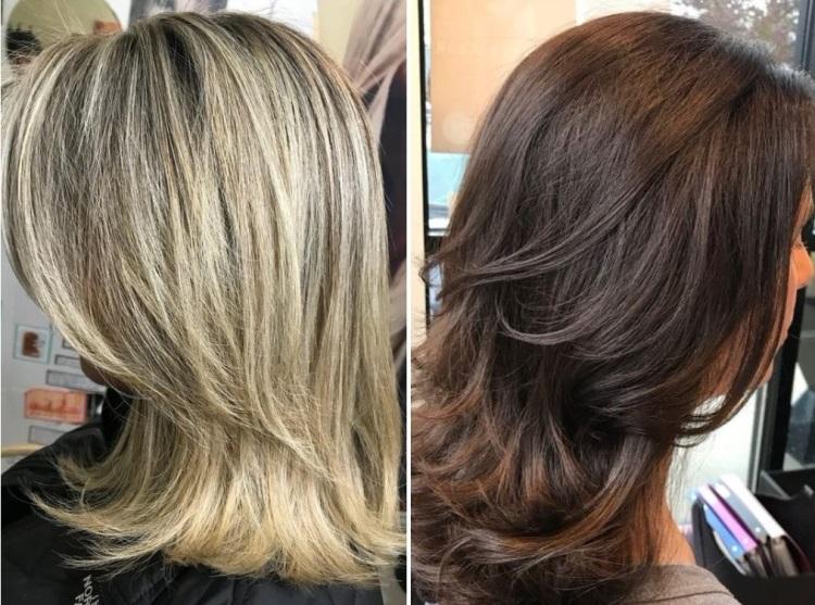 Турецкий каскад: стрижка для средних волос