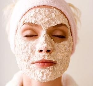 Омолаживающая маска для лица из овсянки