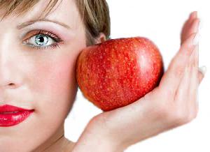 Маски для разных типов кожи лица из яблок