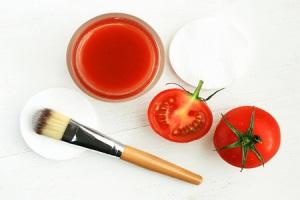 Показания к применению и эффект масок для лица из помидоров