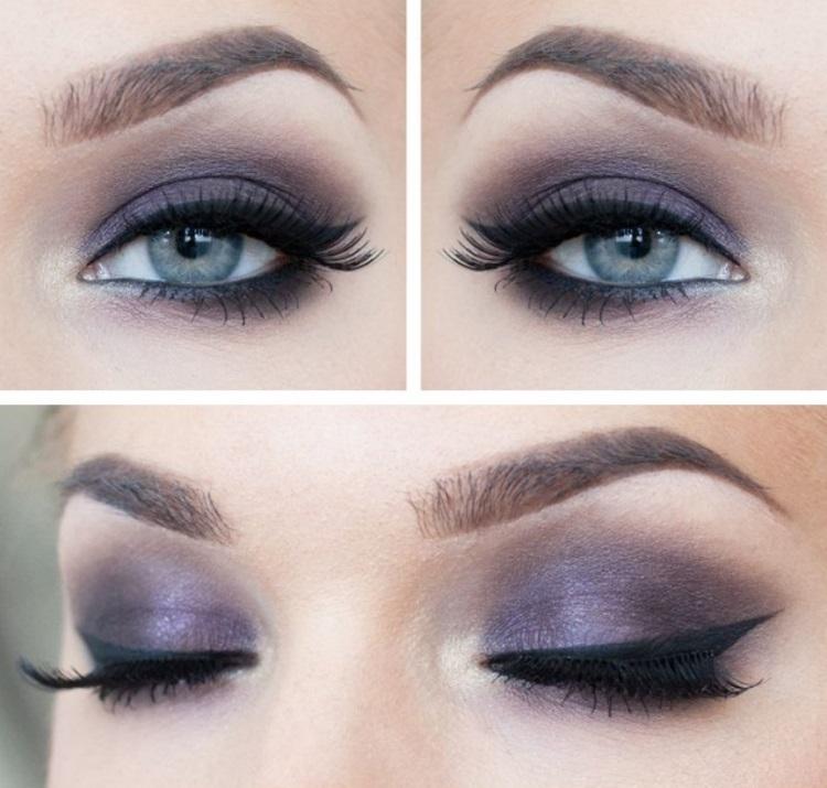 Голубые глаза: какие тени подойдут