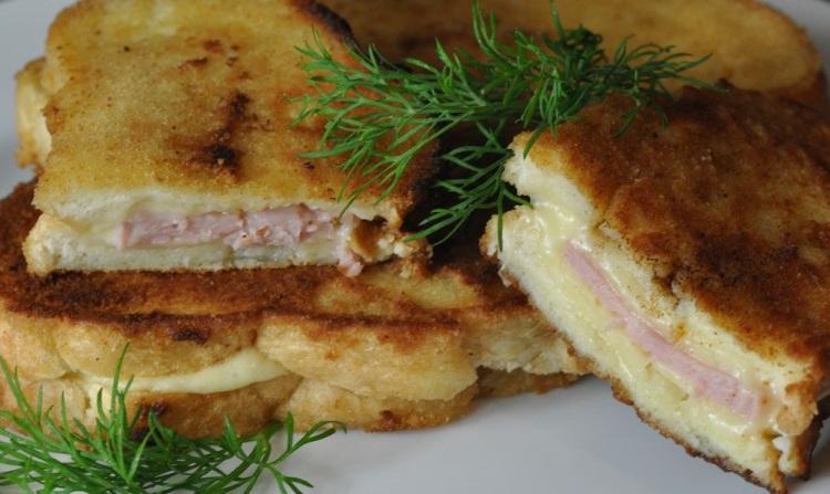 Бутерброд: как сделать в кляре