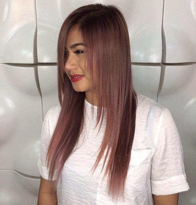 Каскад: удлиненная стрижка на средние волосы