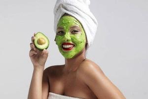 Маска из авокадо для кожи лица от морщин