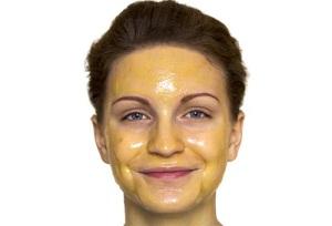 Питательная маска для лица из яйца