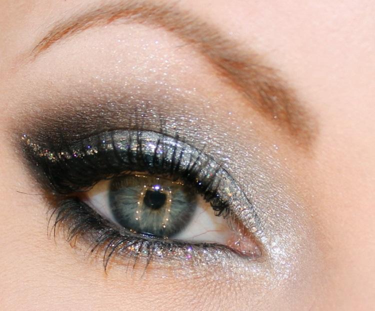 Вечеринка: как накрасить глаза
