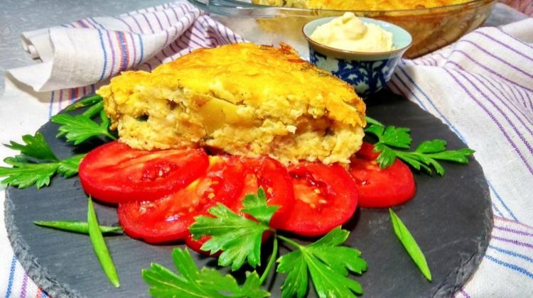 Запеканка: из сыра и цветной капусты