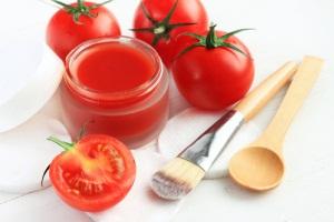 Маска от морщин для кожи лица из помидоров
