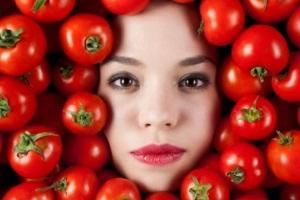 Маска из помидор для лица от морщин