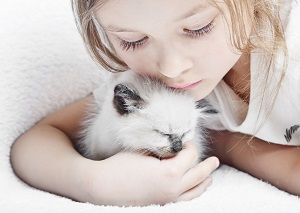 Какую опасность может таить содержание кошек в доме с детьми