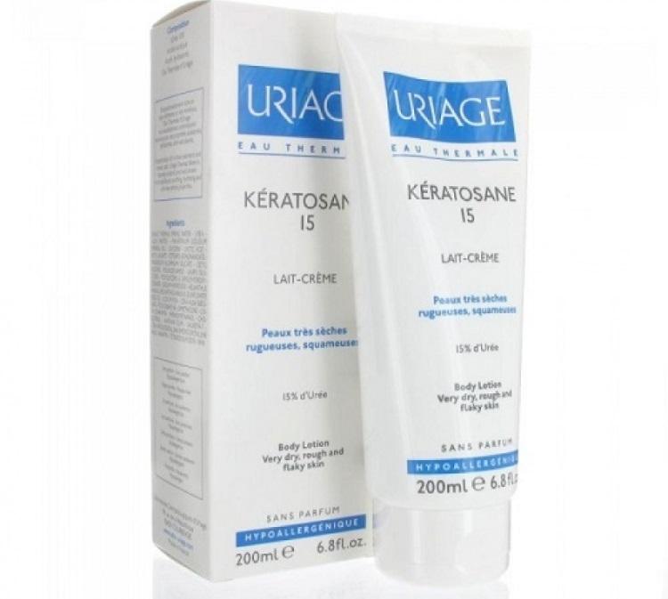 Применение крема Кератозан от гусиной кожи