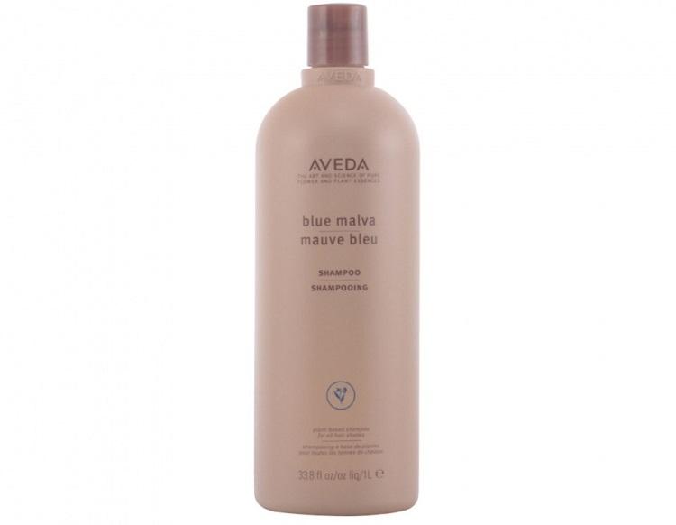 Уход за осветленными волосами - шампунь Blue Malva (Aveda)