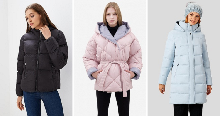 Как и с чем носить дутую куртку женщинам