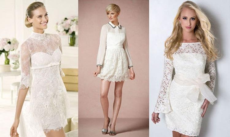 Как выбрать белое кружевное платье