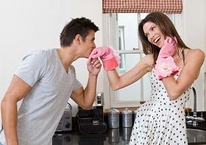 Жизнь семейной пары в условиях мегаполиса