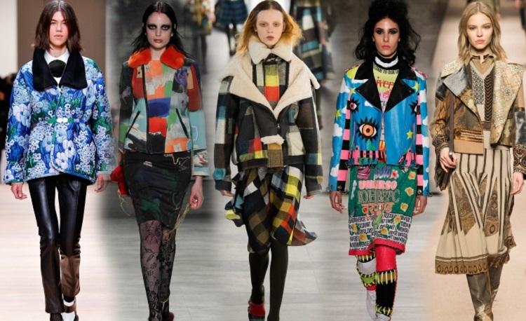 Модные женские куртки, стильные принты