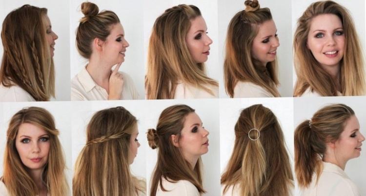 Длинные волосы: обычные прически на каждый день
