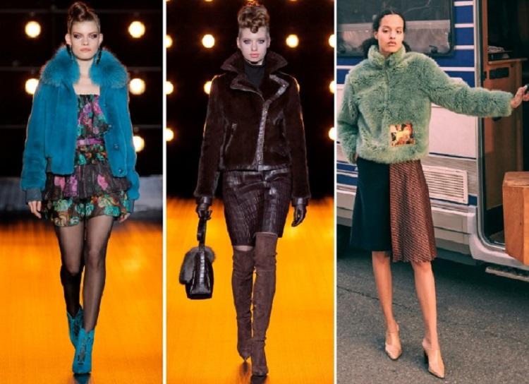 Меховые куртки для женщин, сезон осень-зима