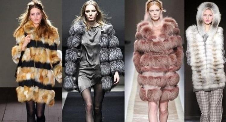 Модные шубы, сезон осень-зима