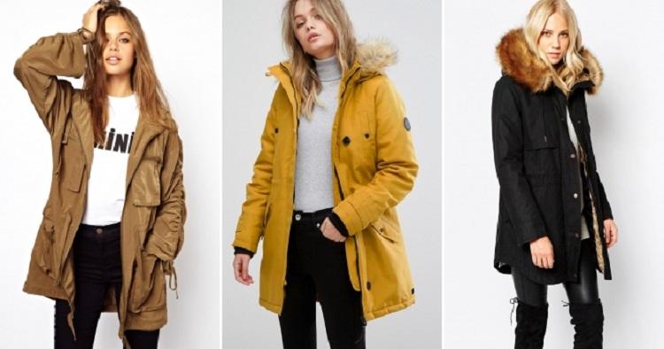 Куртки-парки для женщин, модные цвета и модели