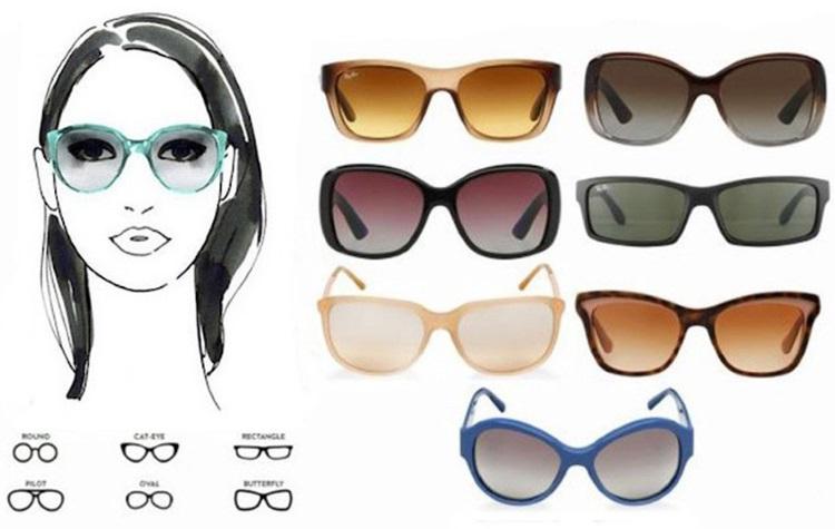 Овальное лицо: как подобрать очки