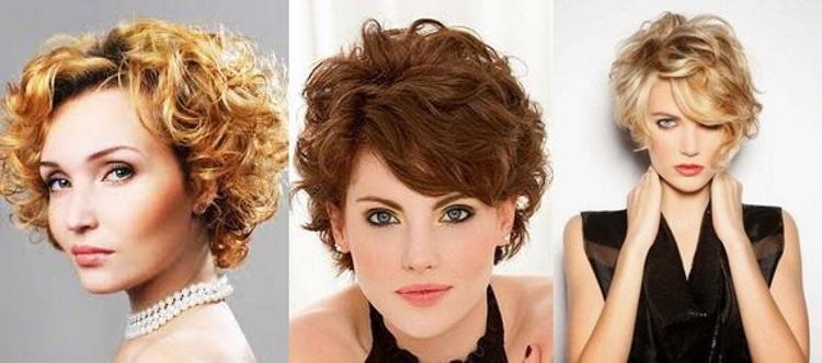 Короткие кудрявые волосы: как уложить
