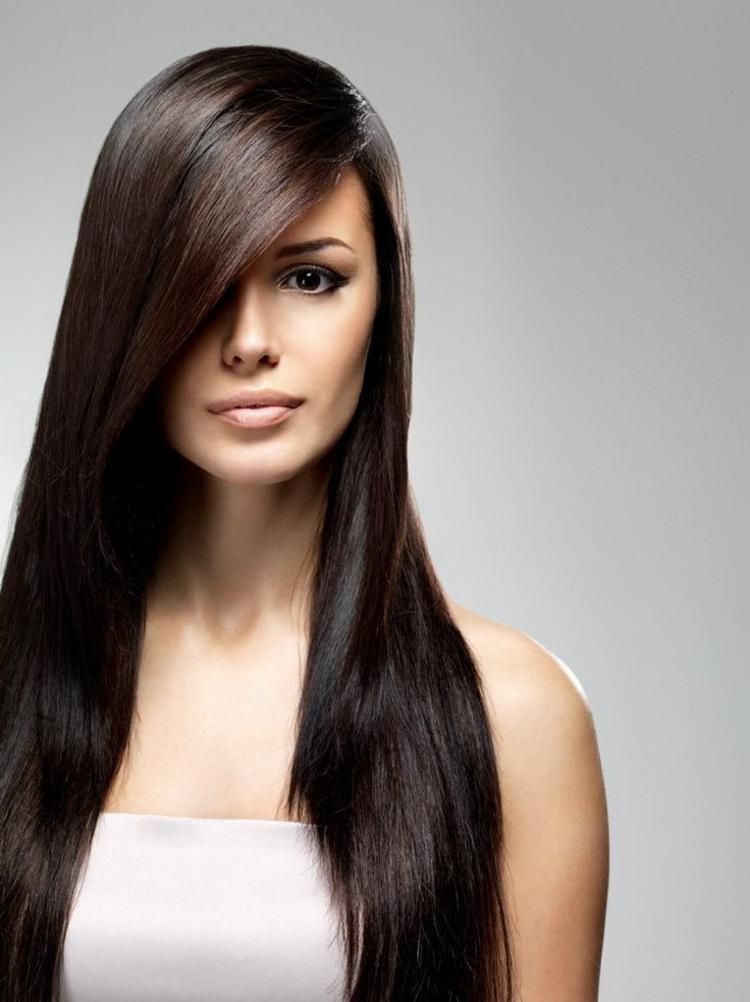 Прямые волосы: как уложить
