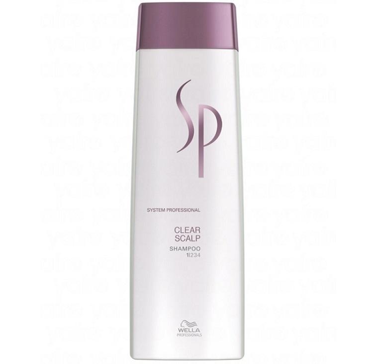 Очищающий шампунь для волос и кожи головы Wella