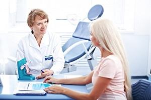На приеме у акушера-гинеколога