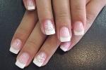 Правила нанесения маникюра на ногти по французски