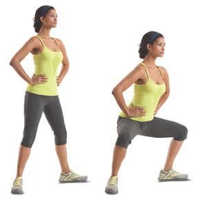 Упражнения для стройных ног.