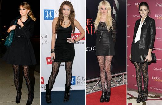 Модные колготки 2012-2013
