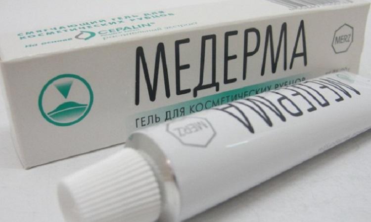Гель Медерма - средство для избавления от рубцов после прыщей