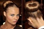 Инструкция, как сделать прическу бублик из длинных волос