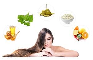 Лечебные маски для волос - выбор натуральных продуктов