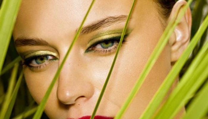 Макияж для светлых зеленых глаз