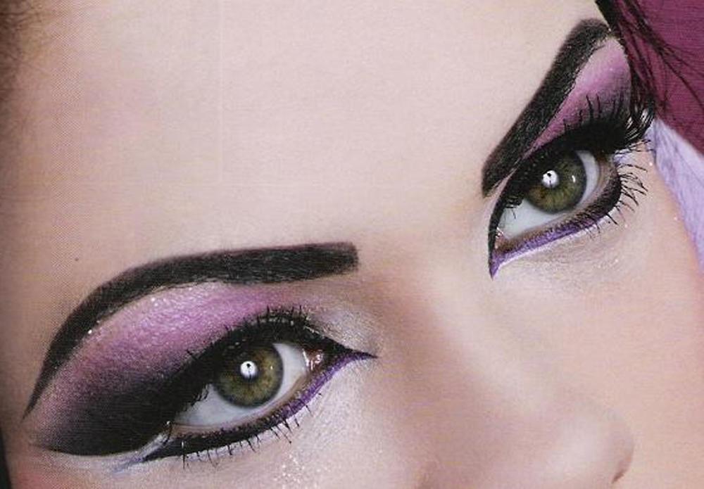 Лучший макияж для зеленых глаз