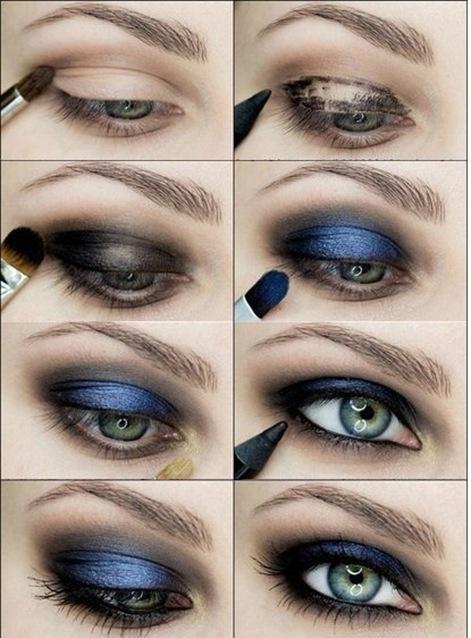 Как сделать макияж для голубых глаз