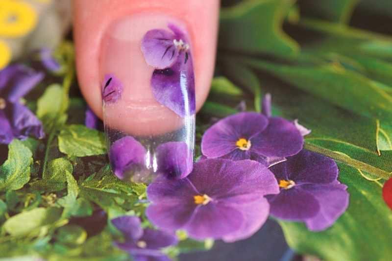 Дизайн для наращенных ногтей